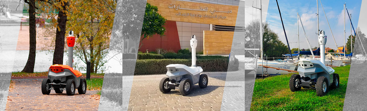 Outdoor security robots S5.2 Picard