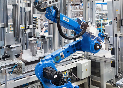 Investment in a completely automated plant to produce robots