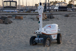 Public safety robot COVID 19