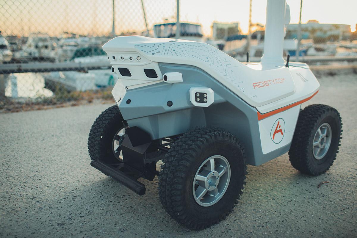 Security robot Los Angeles