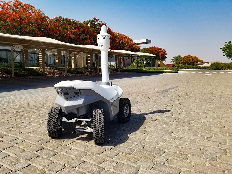 Security robot Dubai
