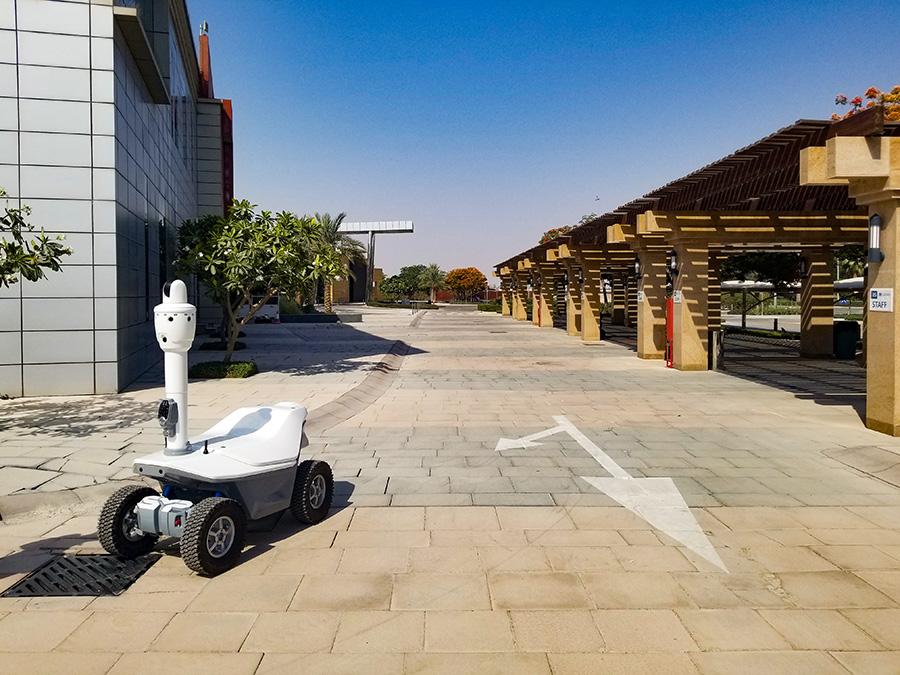 Security robot persian gulf