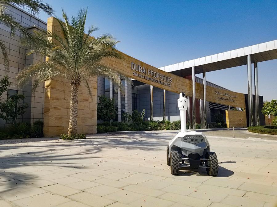 Security robot UAE