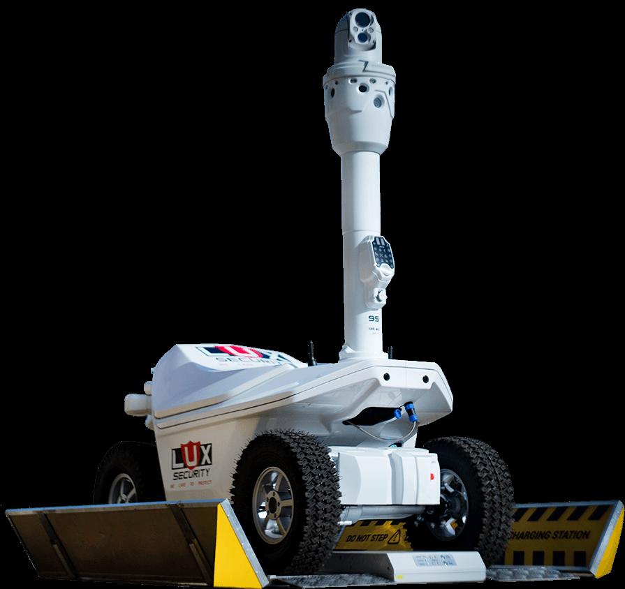 Garde pour les entreprises industrielles, commerciales et de services publics à l'ère de la robotique